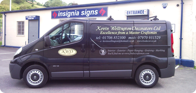 Recent Works From Insignia Signs
